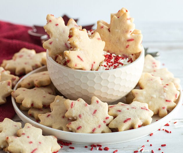 Food blogger, Bella Bucchiotti of xoxoBella, shares a recipe for a Canada Day party which are these copycat Dunkaroo Canada Day cookies.