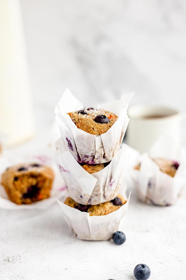 Food blogger, Bella Bucchiotti of xoxoBella, shares a recipe for carrot blueberry muffins. You will love this carrot and blueberry recipe.