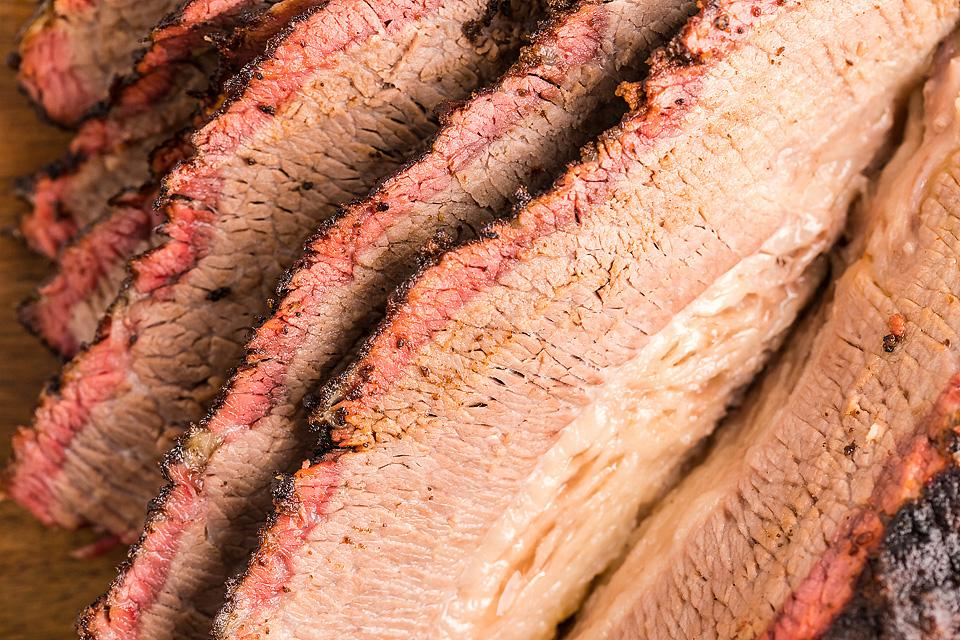 Food blogger, Bella Bucchiotti of xoxoBella, shares a smoked dry rub brisket made in a smoker or a pellet grill. All the details for how to make smoked brisket.