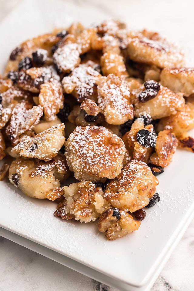 Food blogger, Bella Bucchiotti of xoxoBella, shares a recipe for gluten free vegan Kaiserschmarrn. Learn how to make Kaiserschmarrn.