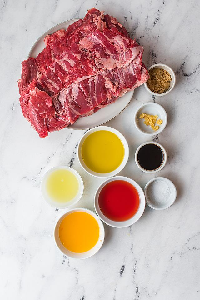 Food blogger, Bella Bucchiotti of xoxoBella, shares a marinated grilled flank steak tacos. Learn how to make carne asada!