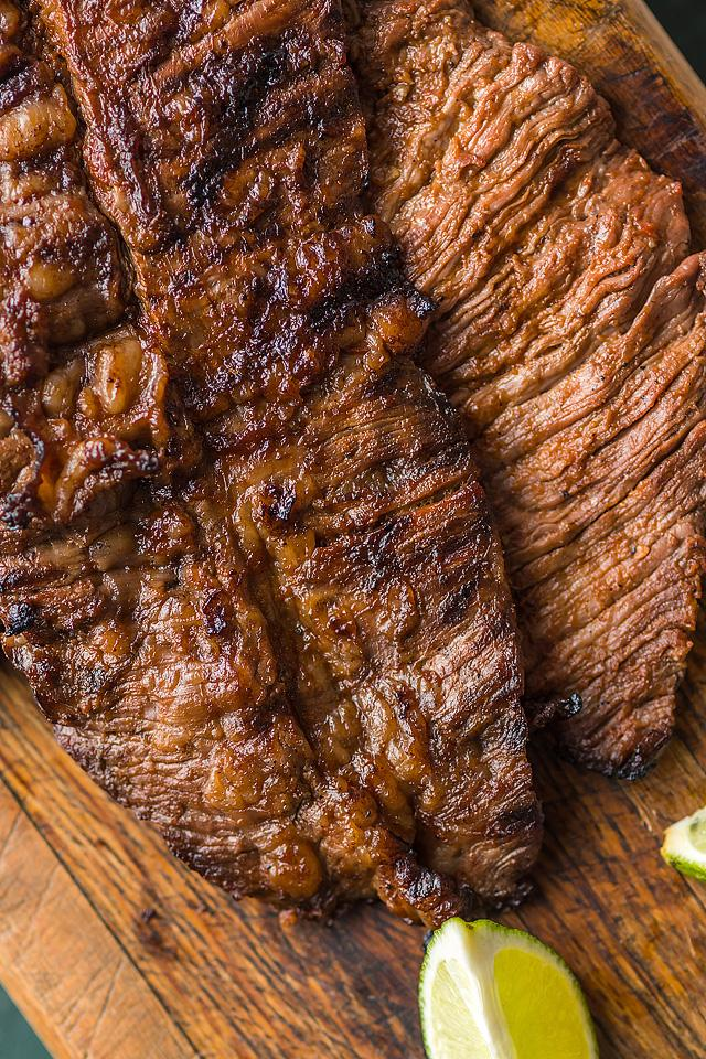 Food blogger, Bella Bucchiotti of xoxoBella, shares a marinated grilled flank steak tacos. You will love this flank steak recipe with the best flank steak marinade.