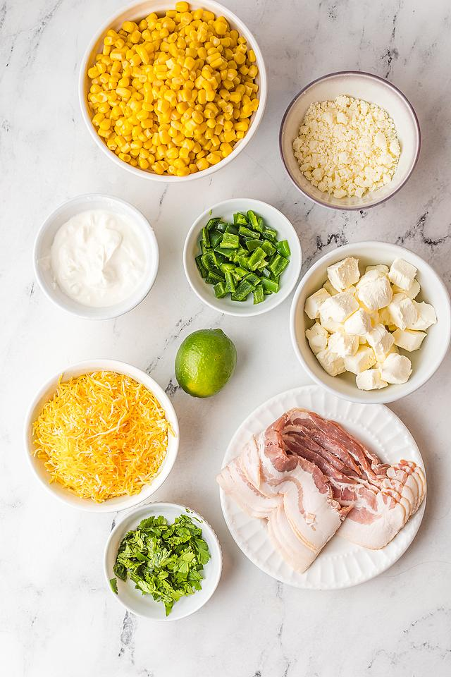Food blogger, Bella Bucchiotti of xoxoBella, shares a spicy corn and jalapeño cheese dip recipe. You will love this easy street corn dip.