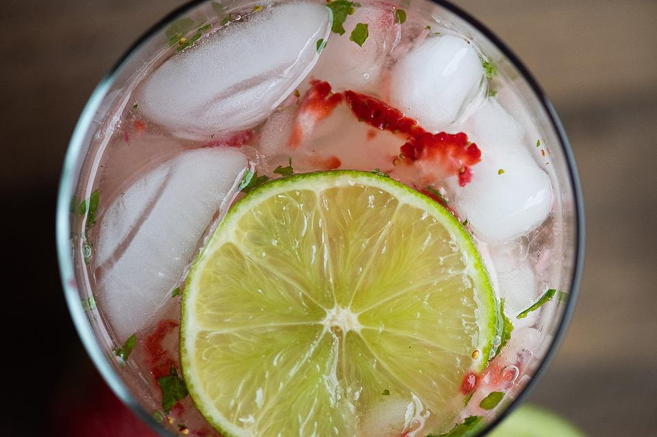 Food blogger, Bella Bucchiotti of xoxoBella, shares a strawberry mojito. You will love this easy summer cocktail recipe.