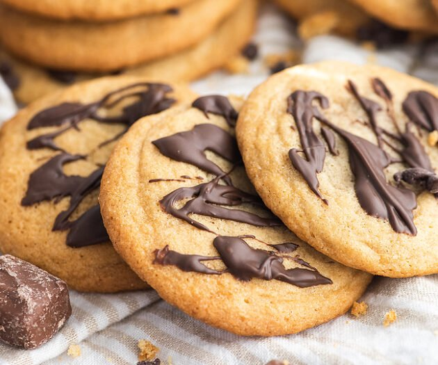 Food blogger, Bella Bucchiotti of xoxoBella, shares a recipe for Mars bar stuffed cookies made with fun size chocolate bars.