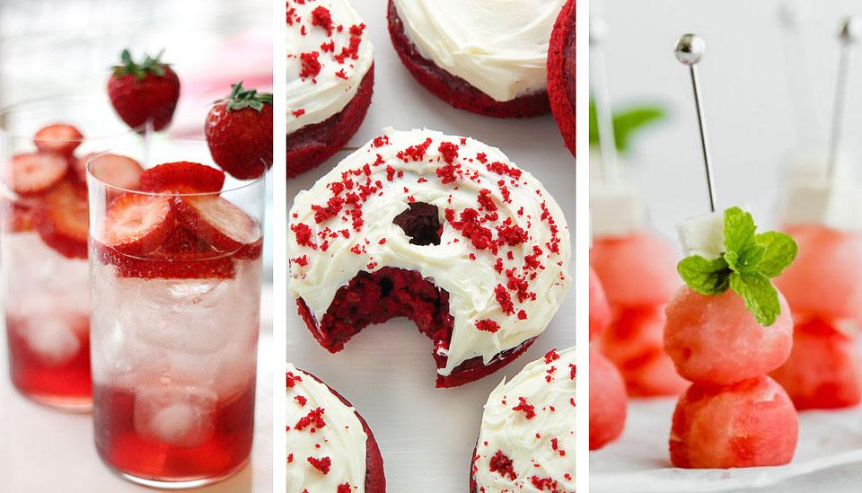 Food blogger, Bella Bucchiotti of xoxoBella, shares all the best Canada Day recipes. You will love these red and white Canada Day themed food ideas for BBQs and parties.