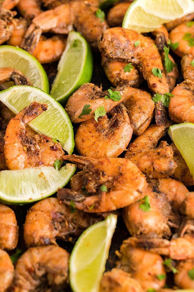 Food blogger, Bella Bucchiotti of xoxoBella, shares a recipe for smoked Caribbean jerk spiced shrimp. You will love this smoked jerk shrimp recipe.