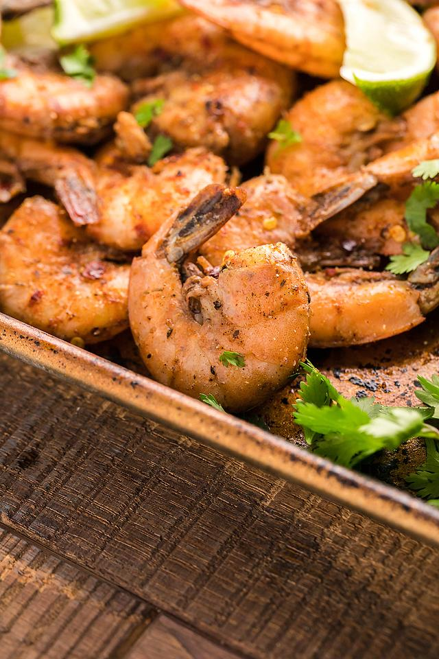 Food blogger, Bella Bucchiotti of xoxoBella, shares a recipe for smoked Caribbean jerk spiced shrimp. It is so easy to make jerk seasoning at home!