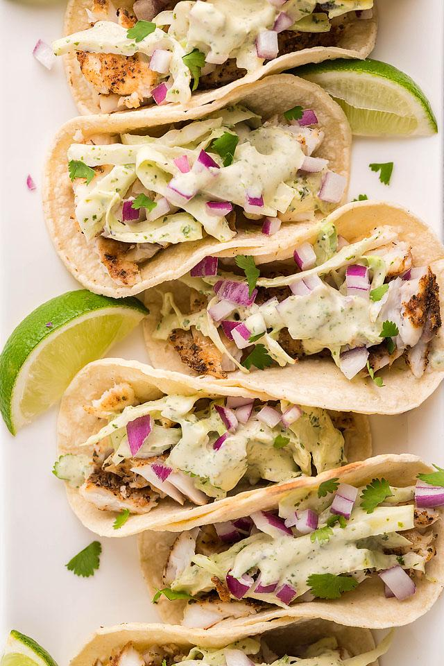Food blogger, Bella Bucchiotti of xoxoBella, shares a recipe for smoker grilled fish tacos with garlic cilantro lime slaw. You will love these pellet griller or Traeger grilled fish tacos.