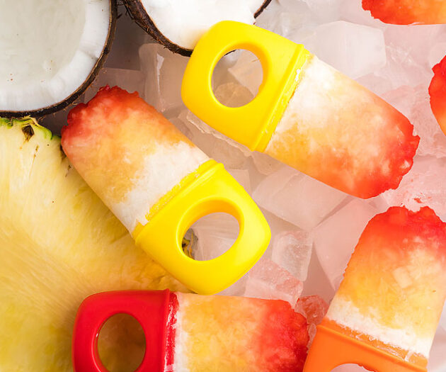Food blogger, Bella Bucchiotti of xoxoBella, shares a recipe for tropical popsicles with coconut milk, pineapple and grenadine. You will love these sugar free popsicles!