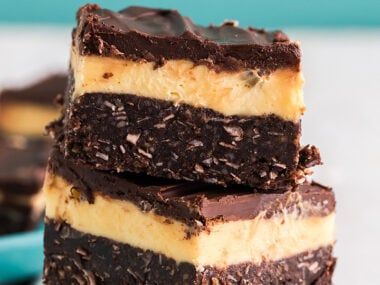 Food blogger, Bella Bucchiotti of xoxoBella. shares a recipe for the best Nanaimo bars. You will love this layered bar recipe that is a no bake dessert.
