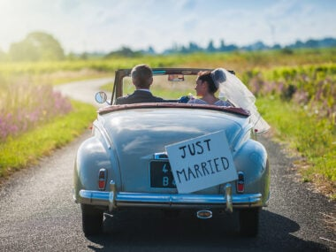 Lifestyle blogger, Bella Bucchiotti of xoxoBella, shares all the best wedding Instagram captions and puns. You will love these wedding photo puns and quotes!
