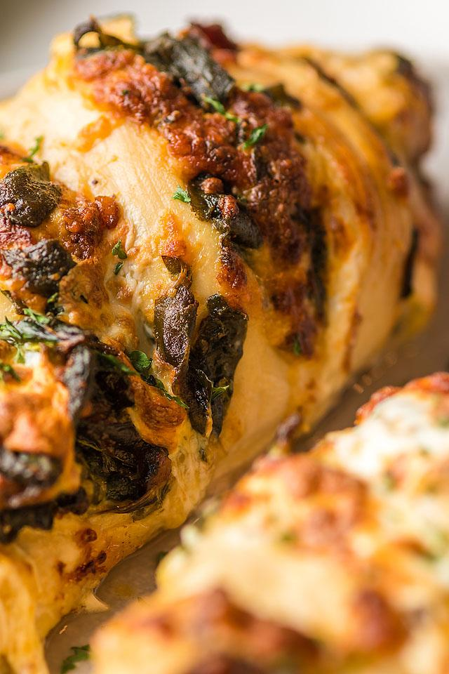 Food blogger, Bella Bucchiotti of xoxoBella, shares a recipe for cheesy bacon hasselback chicken. You will love this air fryer chicken recipe.
