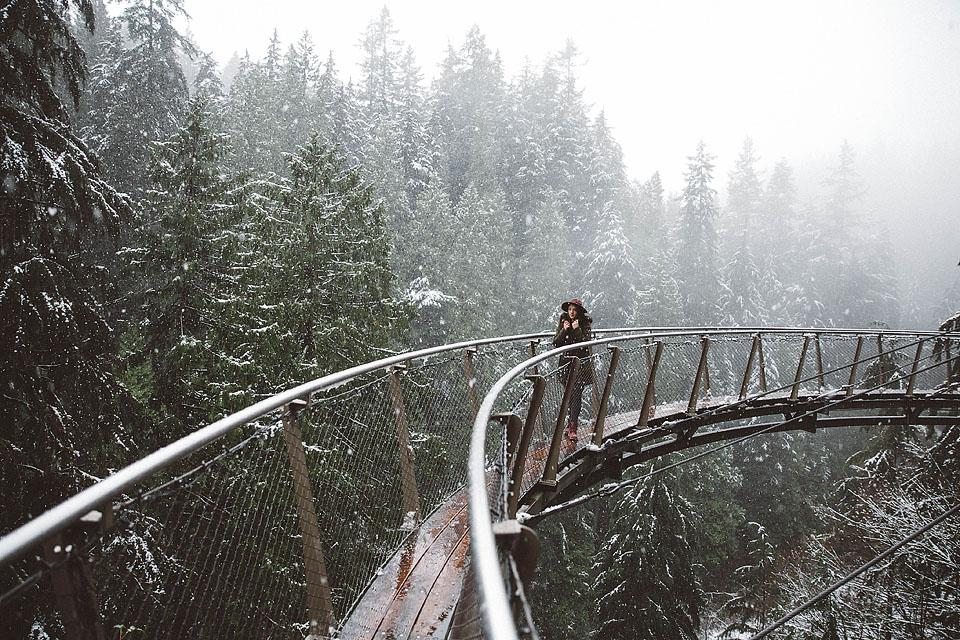 Travel blogger, Bella Bucchiotti of xoxoBella, shares about the Capilano Suspension Bridge in the winter and the Canyon Lights Festival. You will love Capilano Bridge at Christmas!