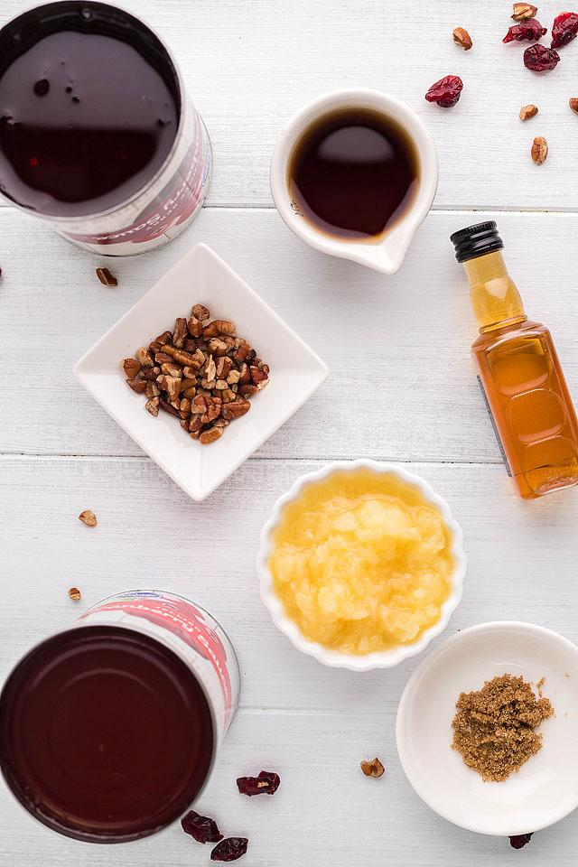Food blogger, Bella Bucchiotti of xoxoBella, shares a recipe for a spiked pineapple bourbon cranberry sauce. You will love this cranberry bourbon relish.